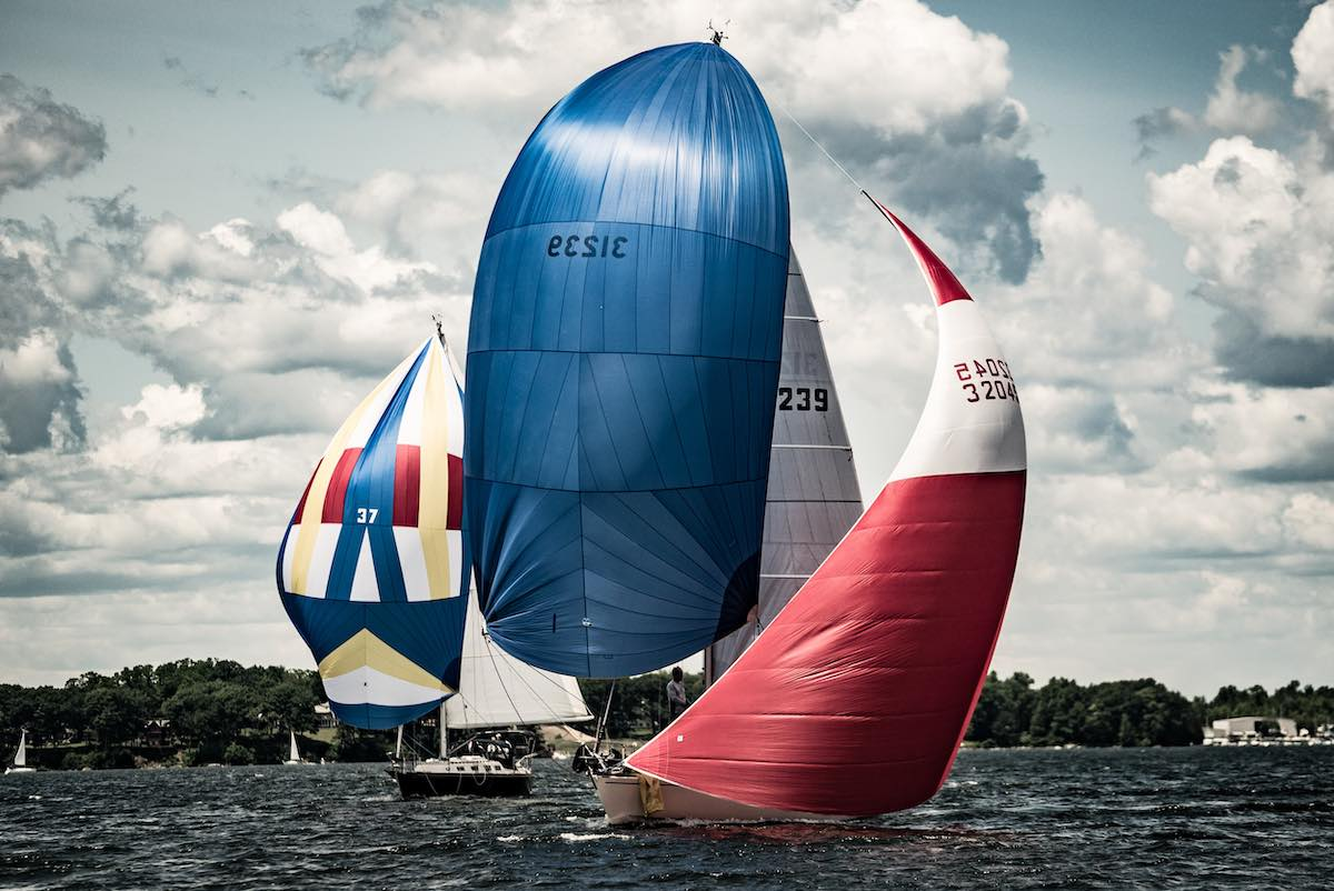 sailboats with spinnakers - metaphor for ADA standards and requirements for website accessibility