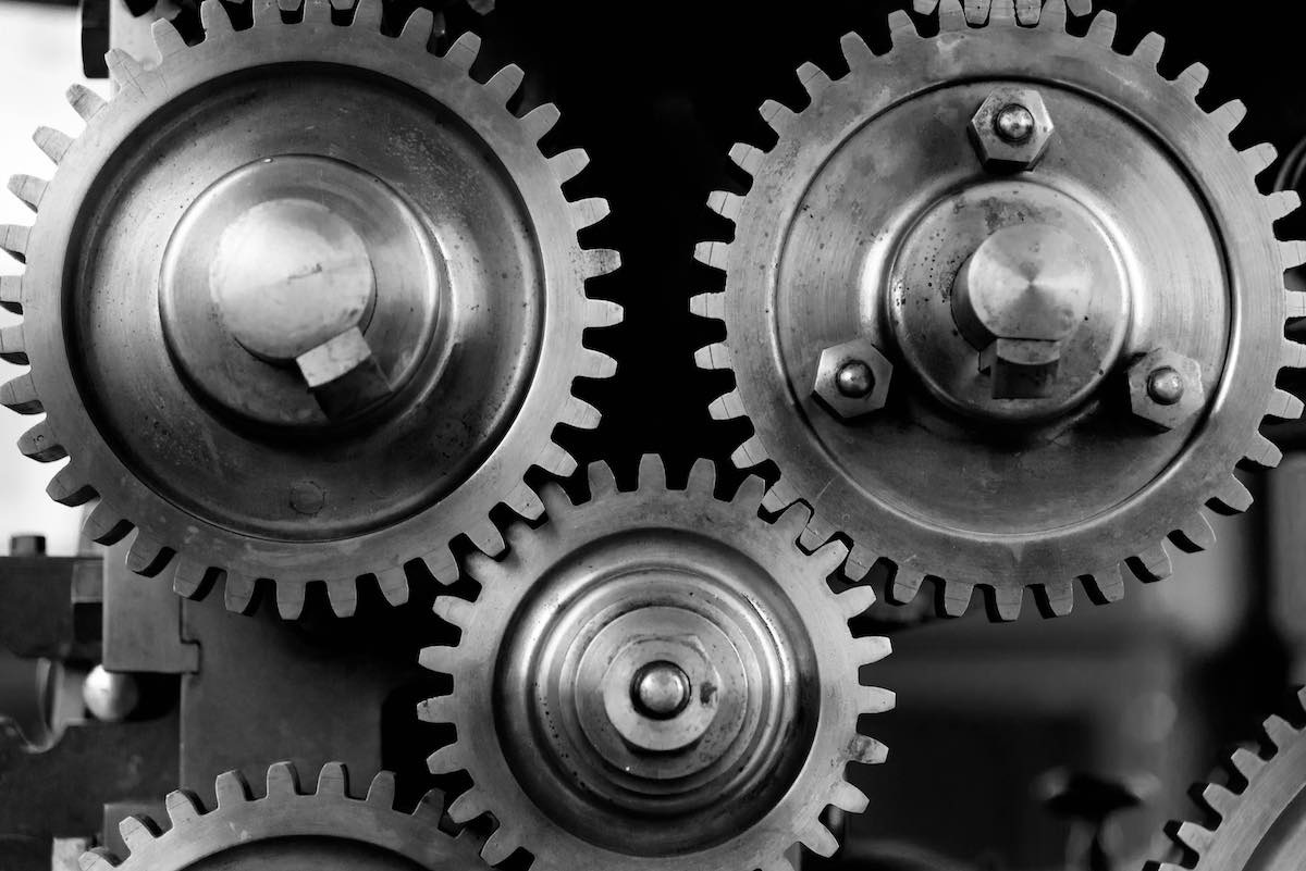 closeup of gears - metaphor for drupal web accessibility experts for wcag compliance